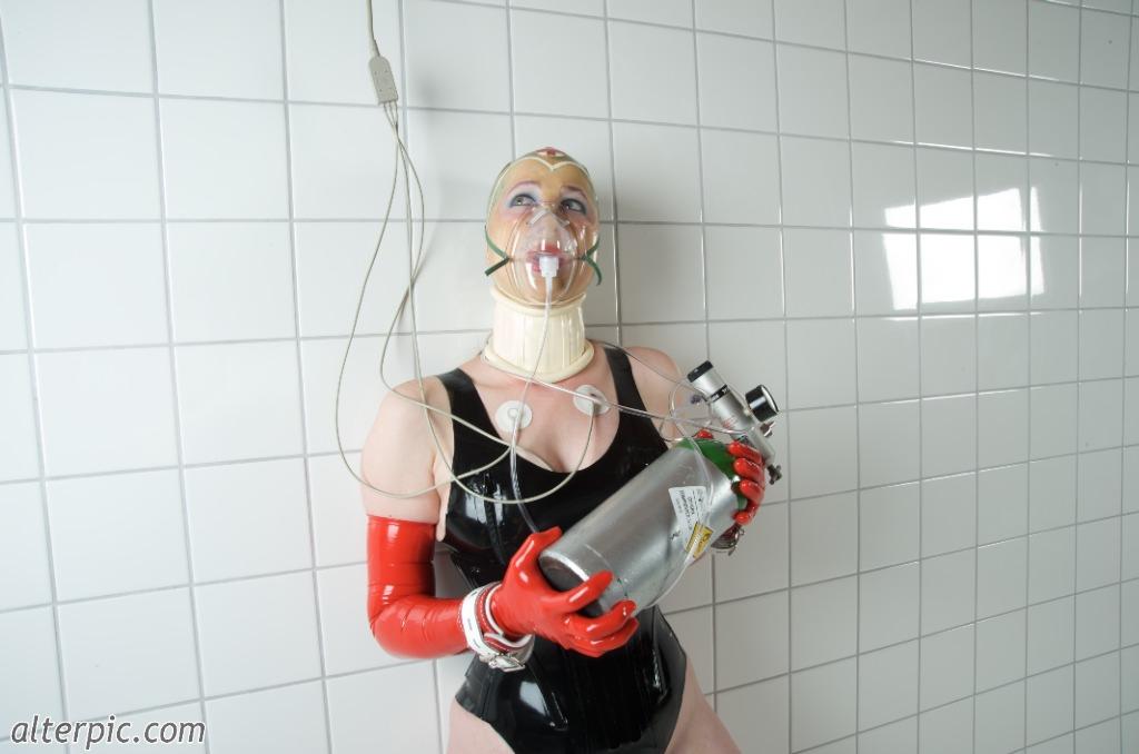 Girl! medical oxygen mask fetish the ebony asshole