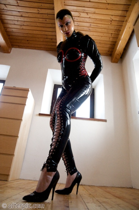 Anna Rose in Layers of Latex